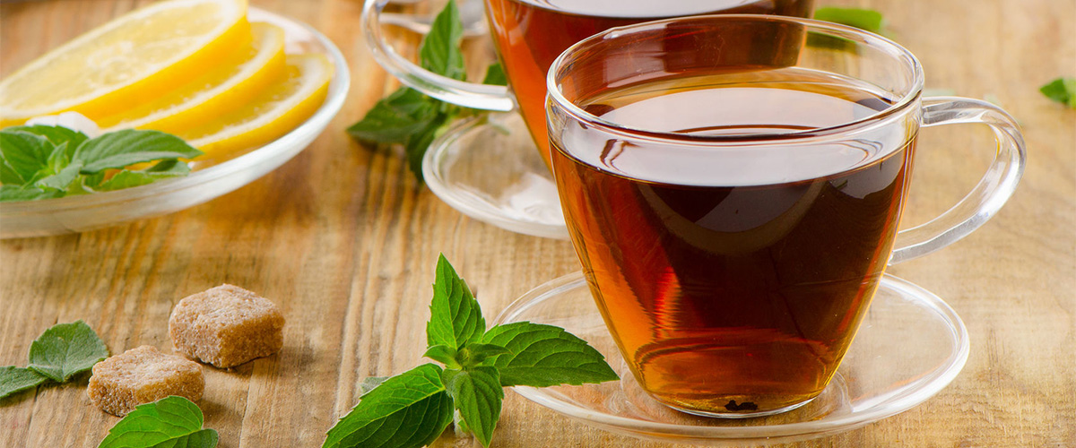 Gefilterd kraanwater - thee