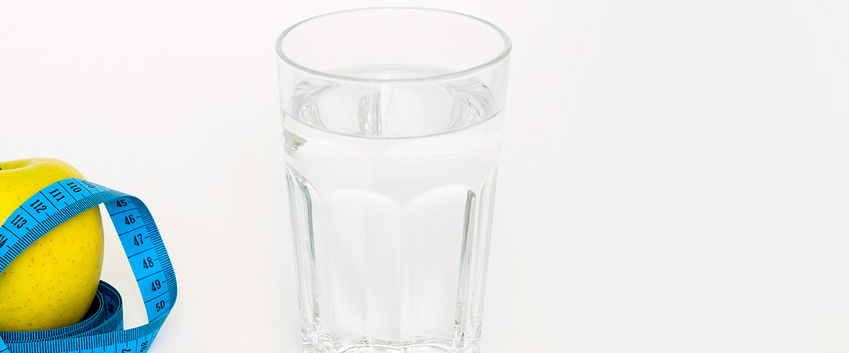 Veel water drinken - vermageren