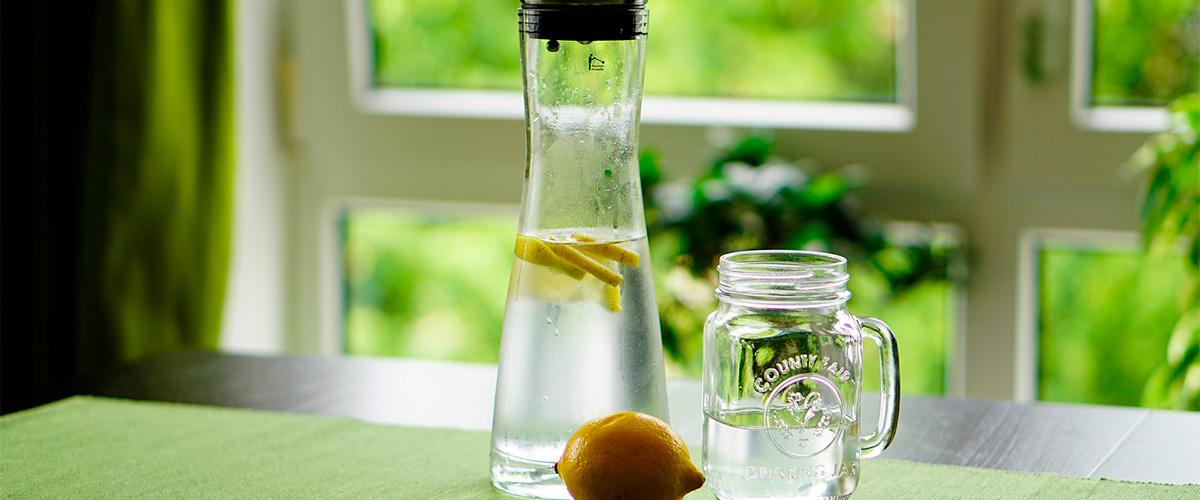 zelf spuitwater maken - limonades